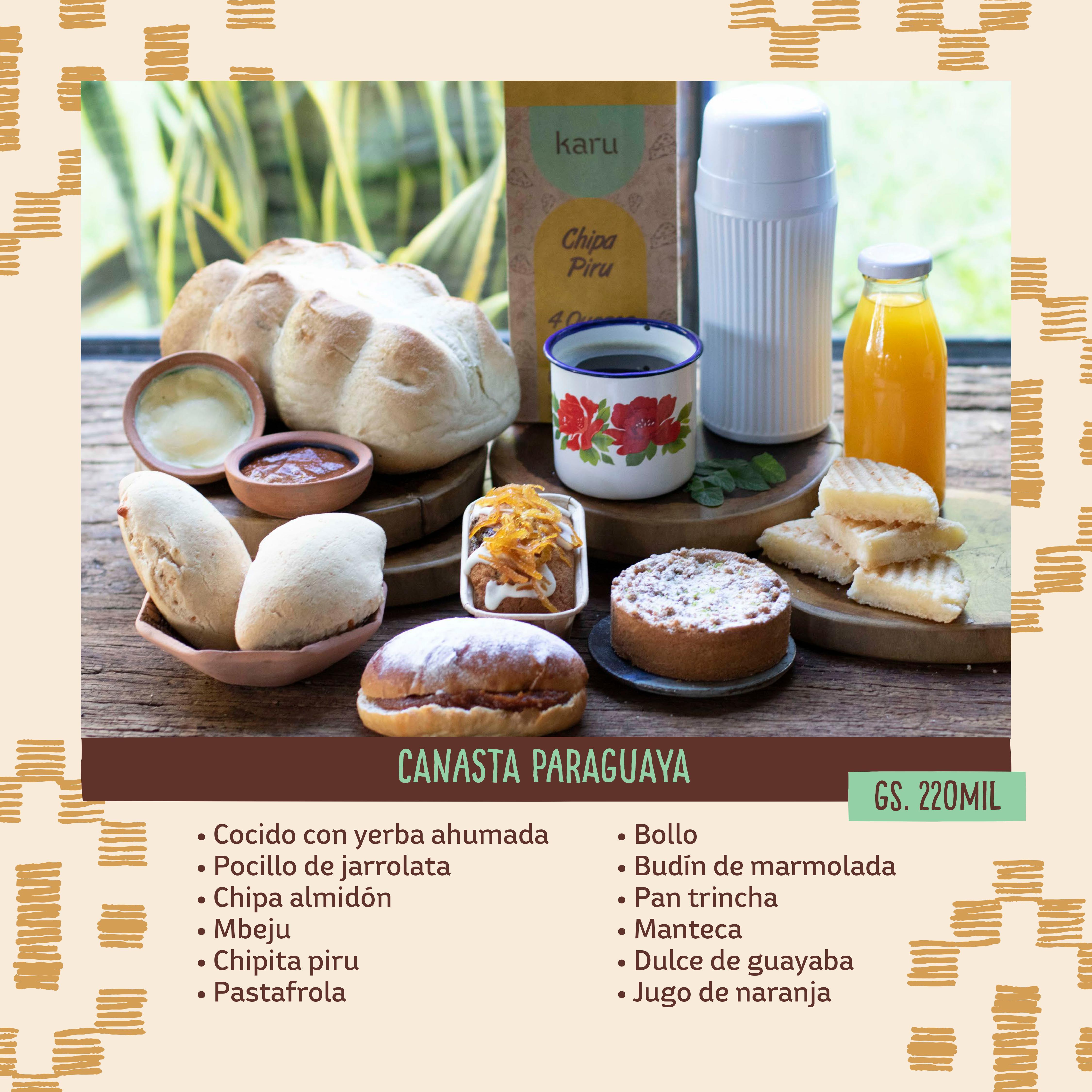 CANASTA PARAGUAYA