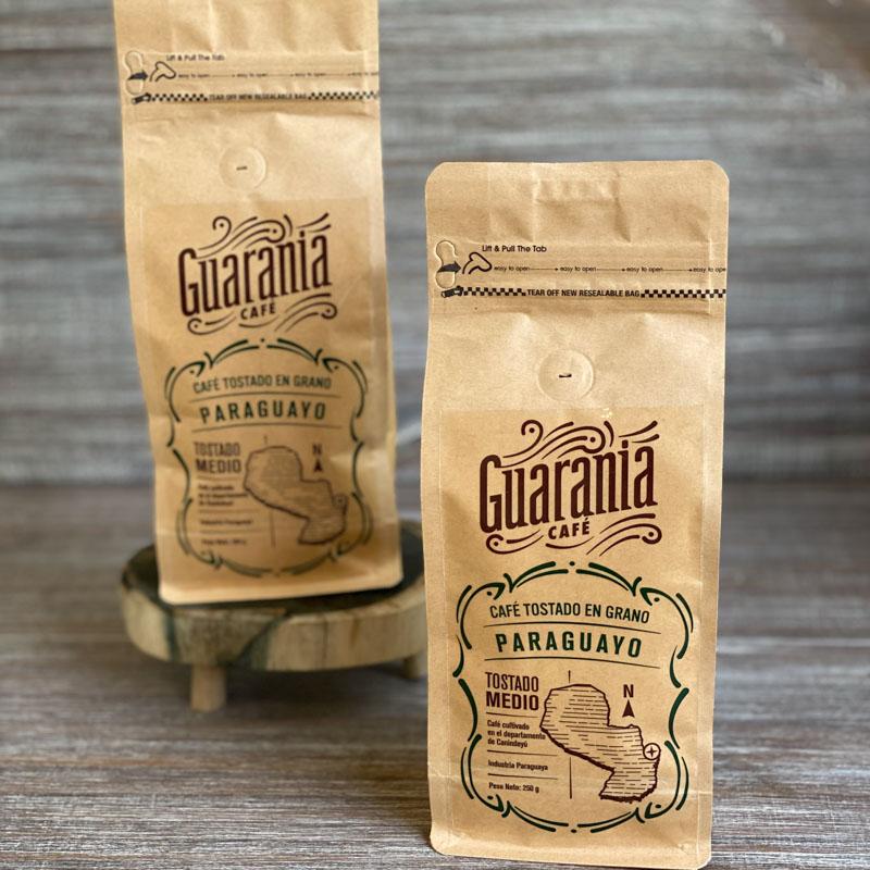 Guarania Cafe Tostado en Grano - Tostado MEDIO 250 GR