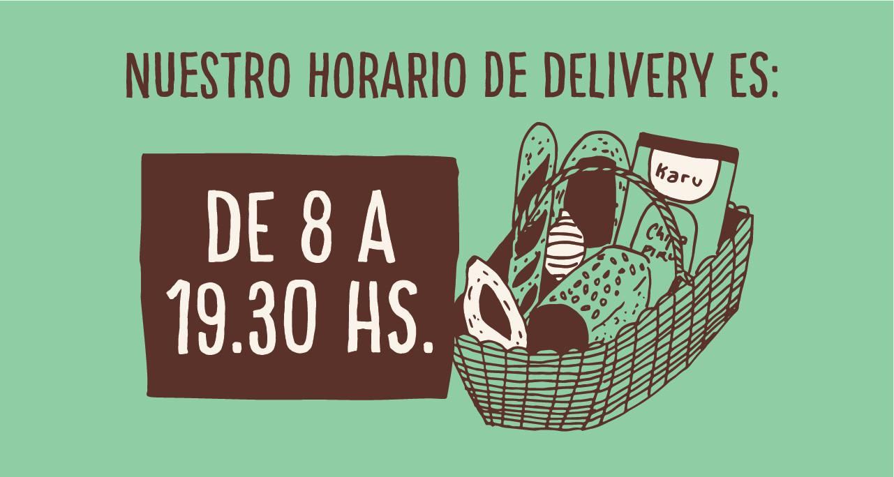 HORARIO DELIVERY